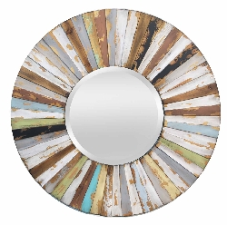 Jersey Wood Wall Mirror