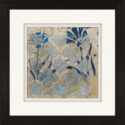 Stained Glass Indigo II Wall Art