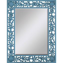 Blue Splash Mirror