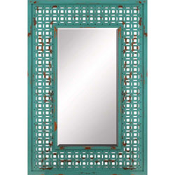 Turquoise Screen Mirror