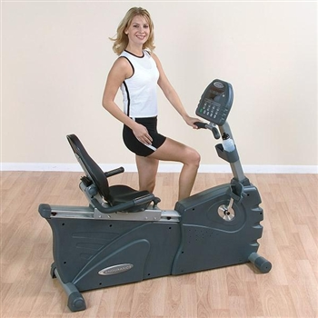 Commercial B3R Self Generating Recumbent Bike