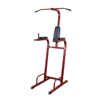 Best Fitness Vertical Knee Raise and Pull-Up Station