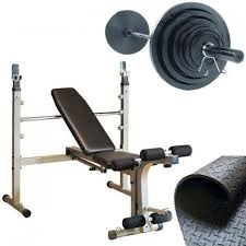 Best Fitness Olympic Bench Package Deal