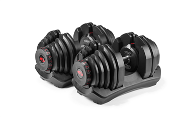 JUST IN- Bowflex SelectTech 1090 90 lb. Adjustable Dumbbells