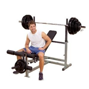 Body Solid GDIB46L Classic Bench Press
