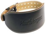 Leather Lifting Belt- Black