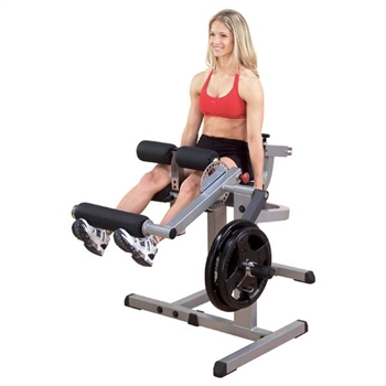 Leg Extension and Leg Curl Cam Machine by Body Solid GCEC340