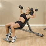 GFID225 - Body-Solid Folding Multi-Bench - Body-Solid Fitness
