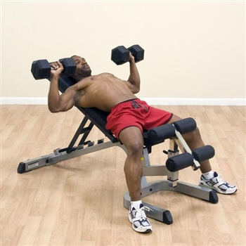 BodySolid GFID71 Flat Incline Decline Weight Bench