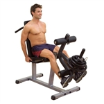 Seated Leg Extension & Lay Down Leg Curl