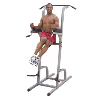 Body Solid GVKR82 pull up and dip station