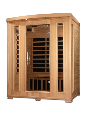 The Melanie (3 person) Infrared Sauna