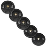 Bumper Plate Set (260 lbs.) All Black