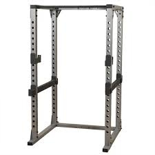 Commercial Rated Power Rack, Bench and 300 Lb cast iron grip plates w/ bar!