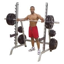 Open Rack, Bench and 300 Lb cast iron grip plates w/ bar!
