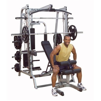 Body Solid Series 7 Smith Machine & Complete Gym System