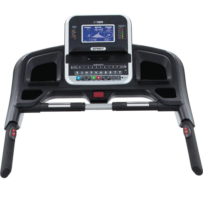 Rebel Fitness Equipment In Omaha Nebraska: Spirit Xt 385 Treadmill