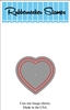 Small Heart Outline Die Cut 5100-02D