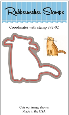 Cat Die Cut 892-02D