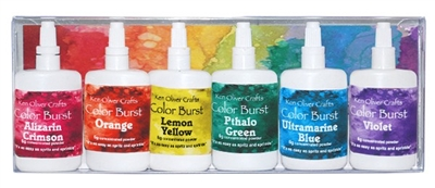 Color Burst 6 Pack Set Brights Assortment