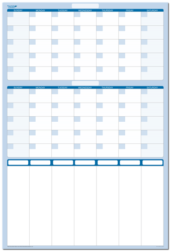 "60-day 7-Column Sticky-Note Planner 24"" x 38"""