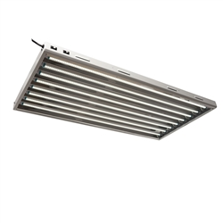 Hydro Crunch 4 ft. 8-Bulb 240-Watt T5 LED Grow Light Fixture