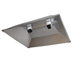Hydro Crunch XXL DE Double Ended Open Hood Reflector