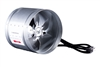 Hydro Crunch 420 CFM 8-inch Inline Duct Booster Fan