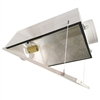 Hydro Crunch Large Air Cooled with 6-inch Duct & Glass Panel Grow Light Reflector
