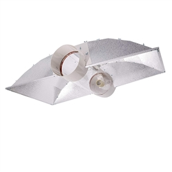 Hydro Crunch 42 in. Cool Tube XXL Wing with 8-inch Duct Grow Light Reflector
