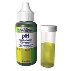 General Hydroponics pH Test Indicator 1 OZ