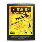 Sun Gro Sunshine Advanced Mix #4 3 cfc