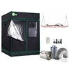 1000-Watt Equivalent Full Spectrum Horticulture Plant Grow Light Fixture with Grow Tent and Ventilation System