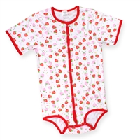 Strawberry Full Snap Onesie