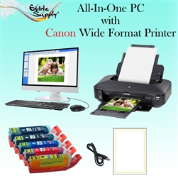 Edible Studio Cake Printing System with Canon Wide Format Printer