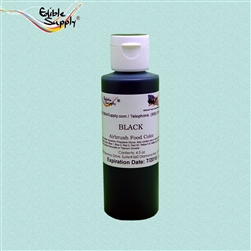 Black Airbrush Color - 4.5 oz
