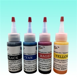 4 oz Edible Ink Refill Combo for Epson Cartridge Free Printer