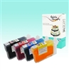 Refillable T0691/ T0692/ T0693/ T0694 Edible SpongeFree® Cartridge Set