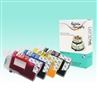 Standard T1251/T1252/T1253/T1254 Edible SPONGE-FREE Cartridge Set