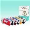 Standard T0791/T0792/T0793/T0794/T0795/T0796 Edible SPONGE-FREE Cartridge Set