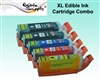 Standard PGI-280K / CLI-281CMYK XL Edible Cartridge Set