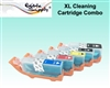 PGI-280BK / CLI-281CMYK XL Cleaning Cartridge Set