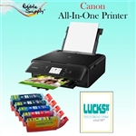 Canon All-In-One Printer with XL Edible Ink Cartridge Combo / 24 Print Ons Sheets