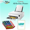 Canon All-In-One Printer with Edible Ink Cartridge Combo / 24 Print Ons Sheets