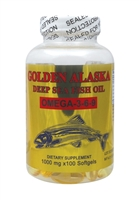 Golden Alaska Deep Sea Fish Oil Omega 3-6-9