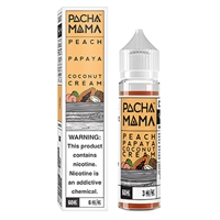 Peach, Papaya and Coconut Cream - PACHAMAMA 50mL Shortfill