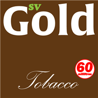 S. Vape Gold - Tobacco 6 X 10ml (6 Pack)