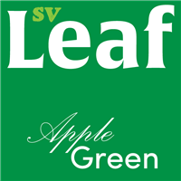 S. Vape Leaf - Apple Green 10ml