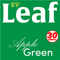 S. Vape Leaf - Apple Green 3 X 10ml (3 Pack)