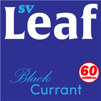 S. Vape Leaf - Blackcurrant 6 X 10ml (6 Pack)